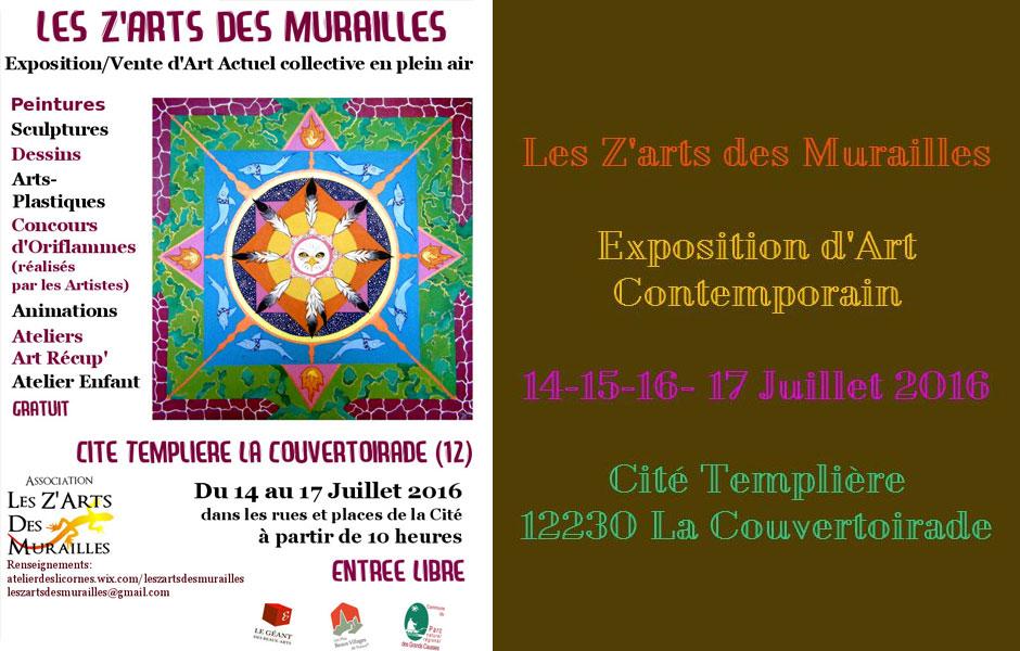 Exposition d'art contemporain « les Z'Arts des Murailles »