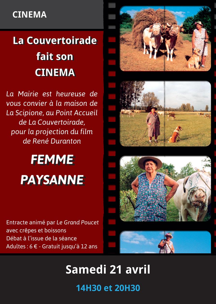 """Cinéma : """"Femme Paysanne"""""""