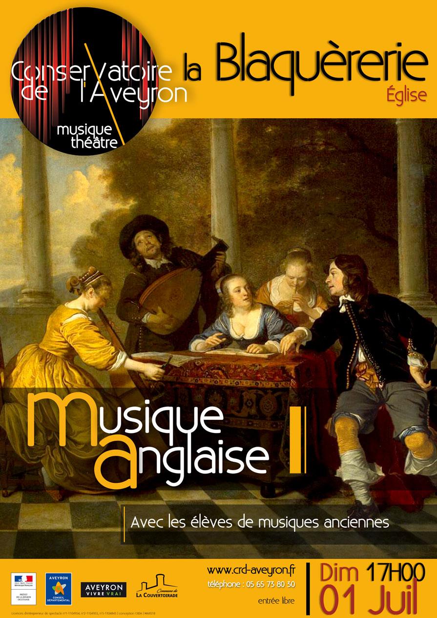 Musique Anglaise à l'église de la Blaquèrerie