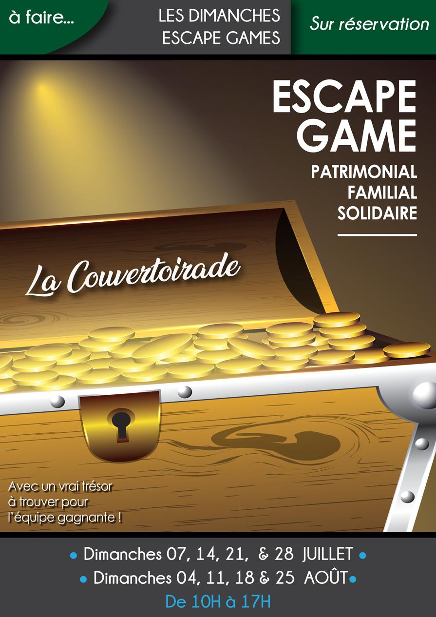 Les Escape Games du dimanche (Juillet & Août)